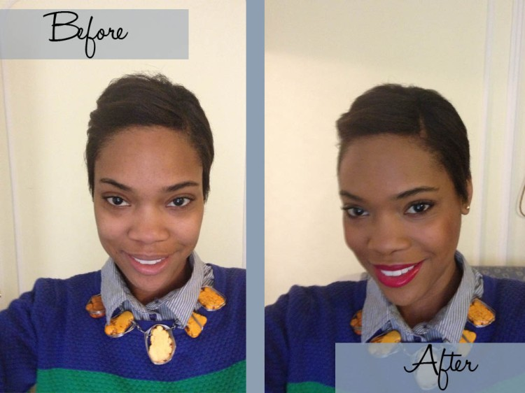 Makeup B&A